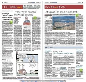The Vancouver Sun, April 2, 2015, Page B7